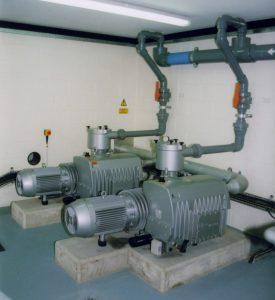 630mᶾ/hr Vacuum Pumps Installed