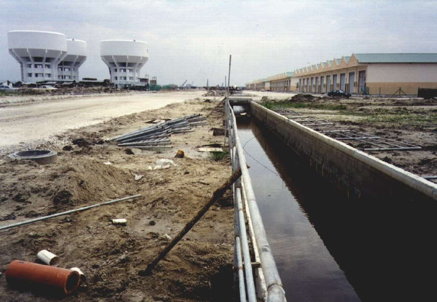 Deep Storm Water Drains