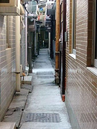 Narrow Streets unsuitable for conventional gravity sewerage system
