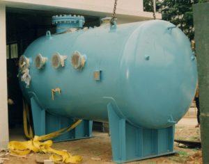 Vacuum Vessel being installed